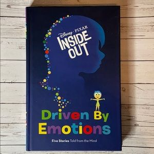 Disney Pixar Inside Out Driven By Emotions book